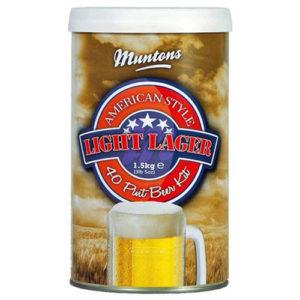 Солодовый экстракт Muntons American Light Lager 1,5 кг